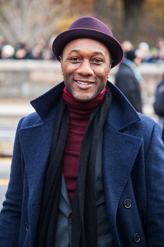 Aloe Blacc attends the 90th Annual Macy's Thanksgiving Day Parade on Nov. 24, 2016 in New York City.