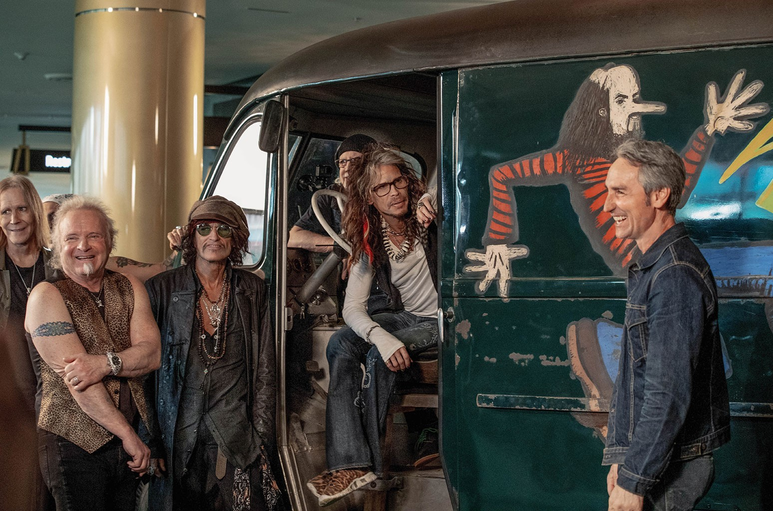 HISTORY's American Pickers with Aerosmith