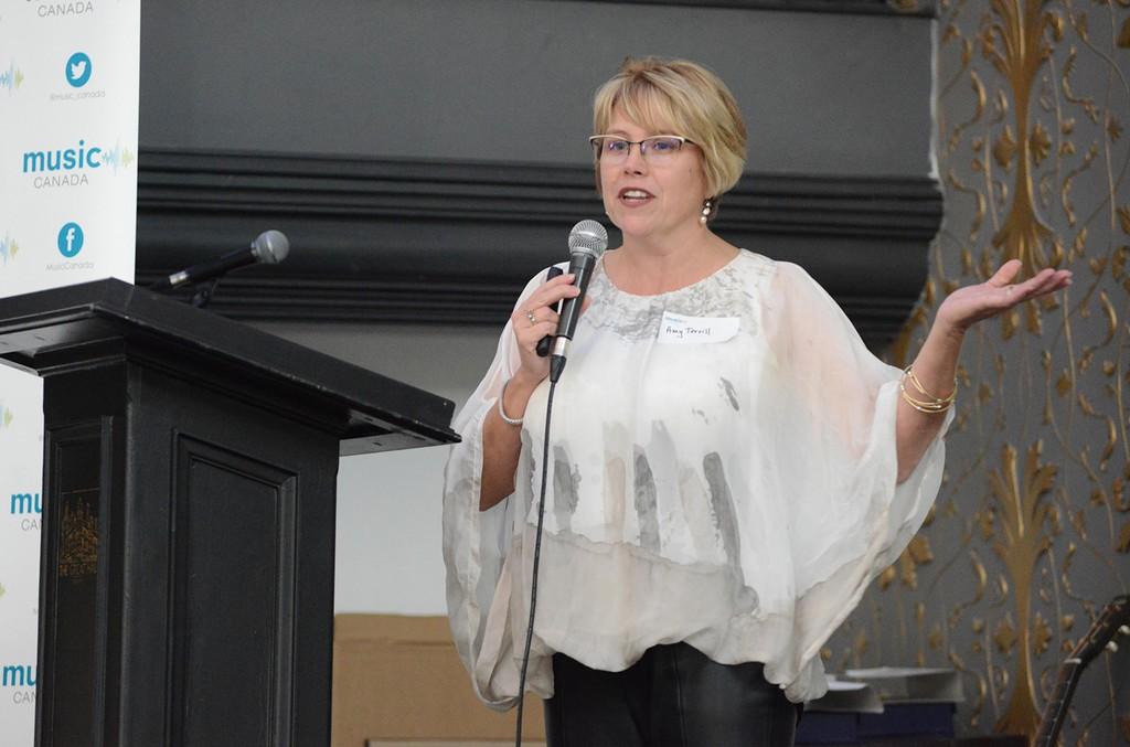 Music Canada Executive Vice President Amy Terrill