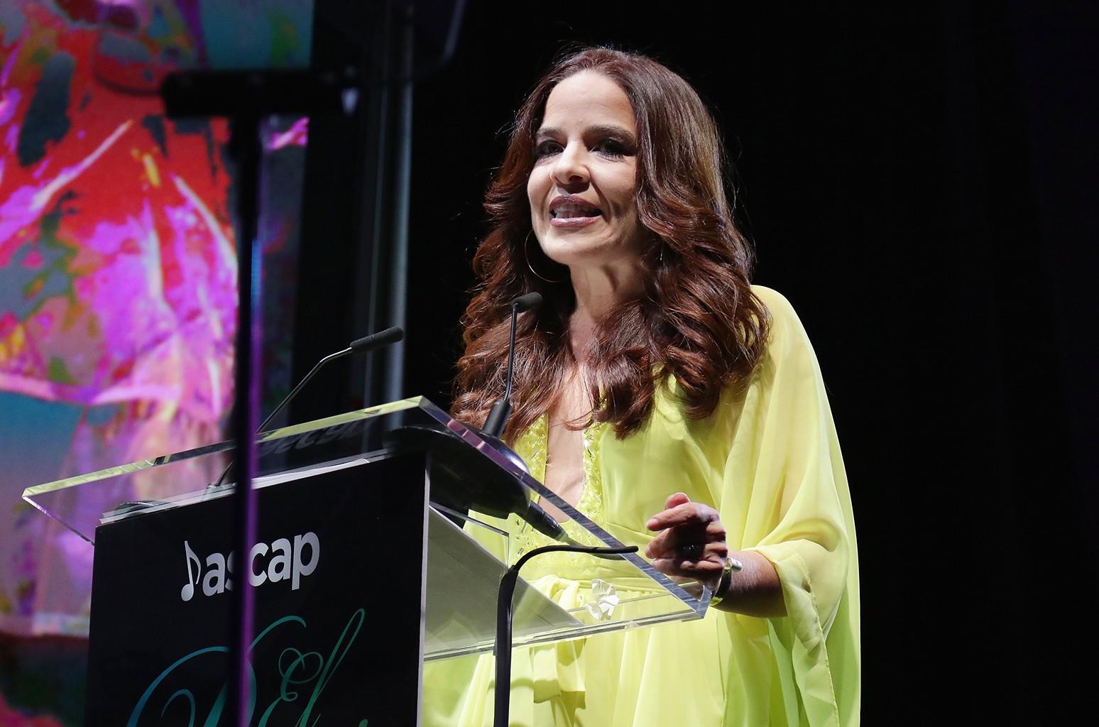 Ana Rosa Santiago at the 2016 ASCAP Latin Music Awards