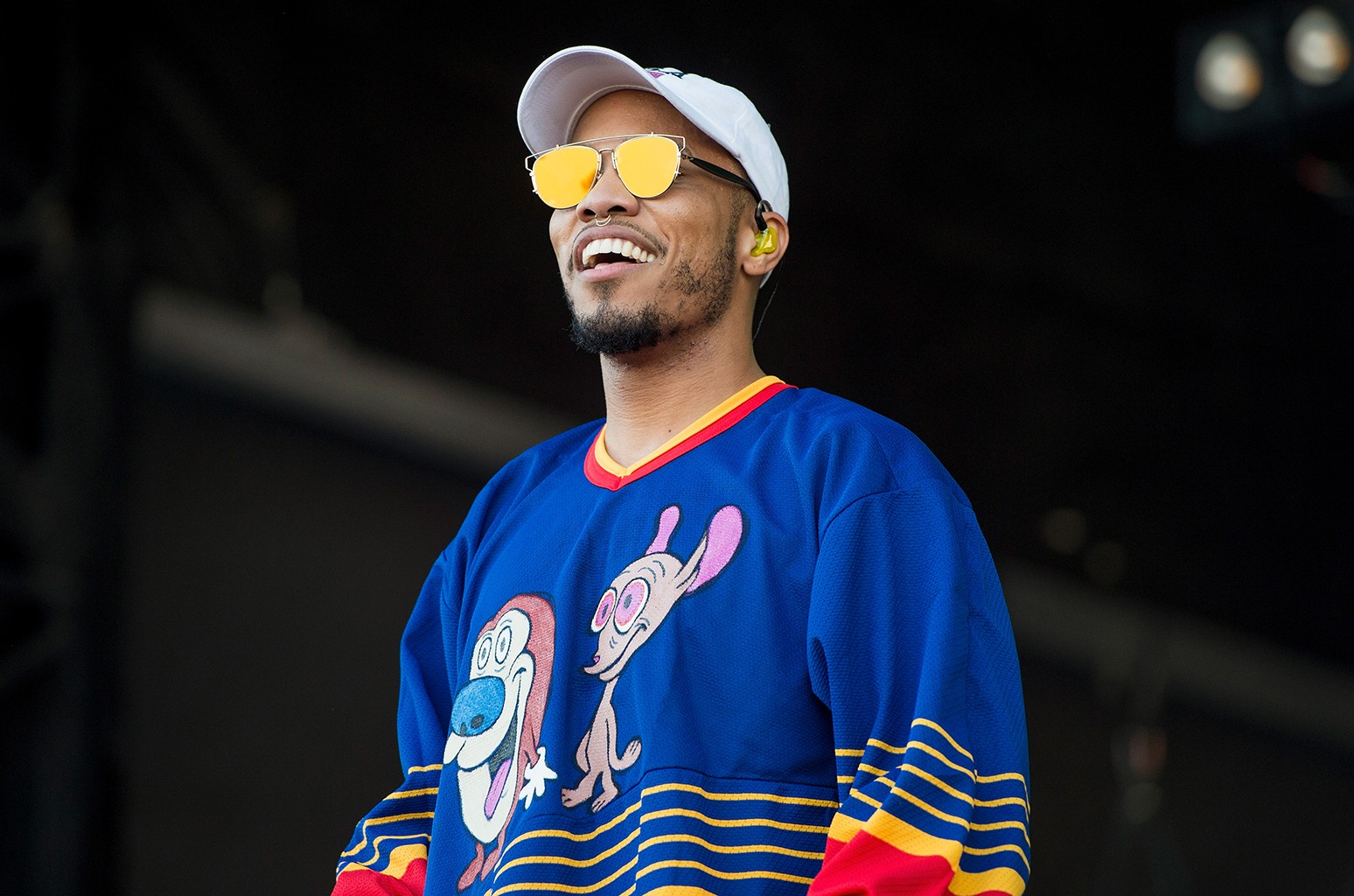 Anderson .Paak performs during The Austin City Limits Music Festival 2016 at Zilker Park on Oct. 8, 2016 in Austin, Texas.