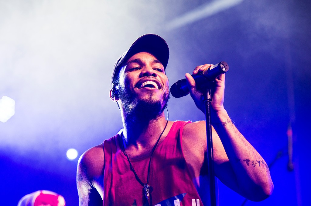 Anderson .Paak photographed during Hopscotch Music Festival.