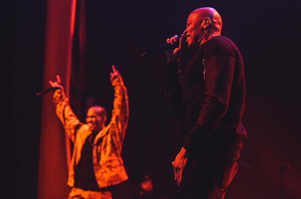 Anderson Paak and Dr. Dre