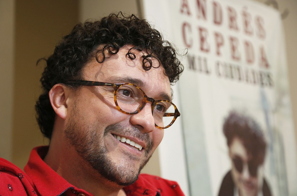 Andres Cepeda in 2016