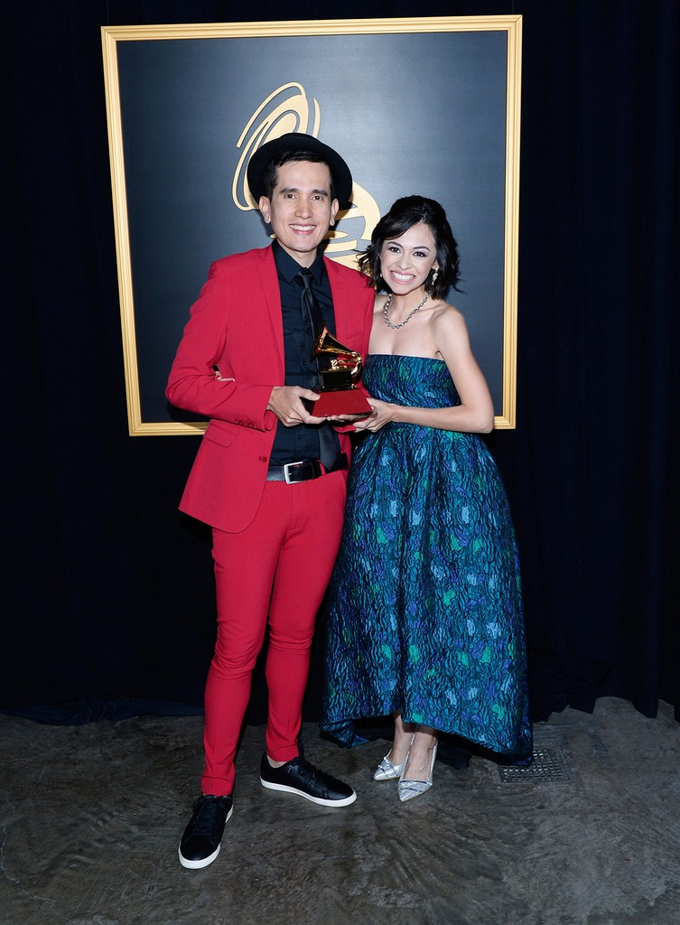 Andres Salguero & wife
