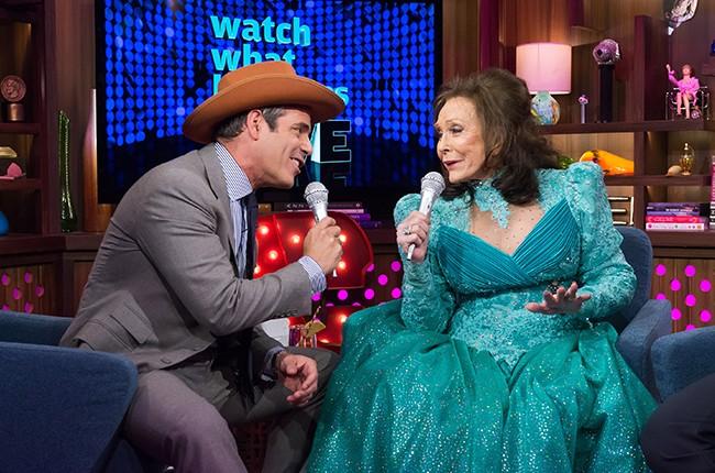 Andy Cohen Loretta Lynn Watch What Happens Live