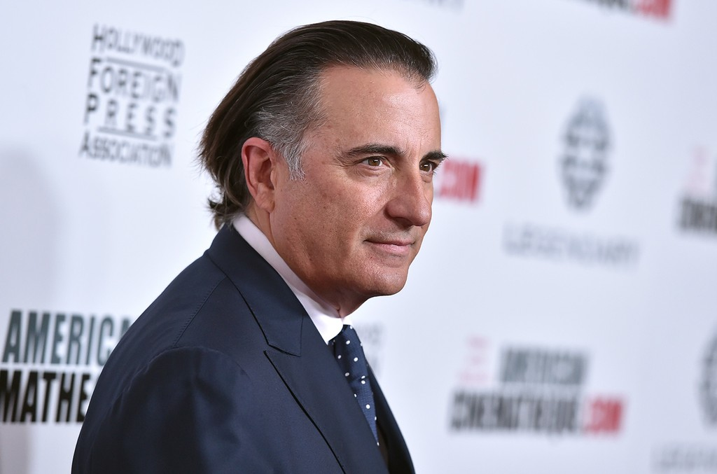 Andy Garcia arrives at the 30th annual American Cinematheque Award Honoring Ridley Scott at the Beverly Hilton Hotel on Oct. 14, 2016 in Beverly Hills, Calif.