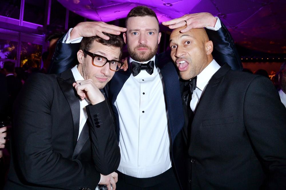 Andy Samberg, Justin Timberlake, and Keegan-Michael Key