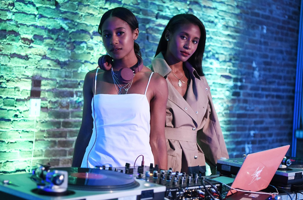 Angel+Dren perform at the Essence & Toyota Future 15 Event at Root NYC on June 22, 2017 in New York City.