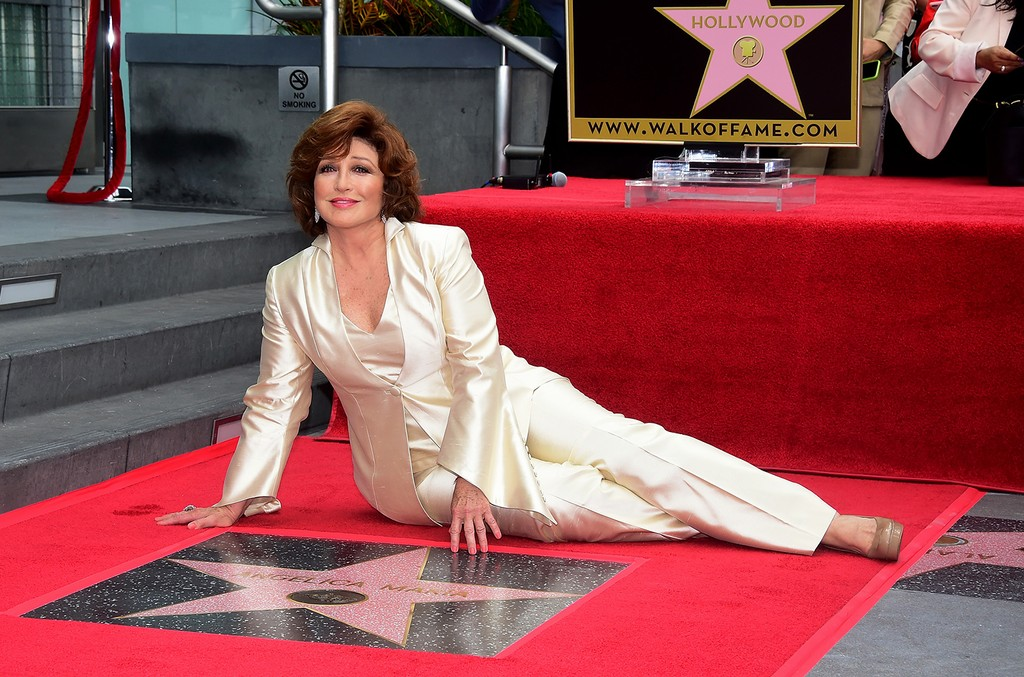 Angelica Maria with her Hollywood Walk of Fame Star