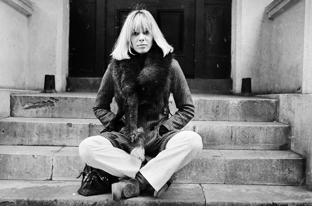 Anita Pallenberg photographed on Oct. 24, 1968.