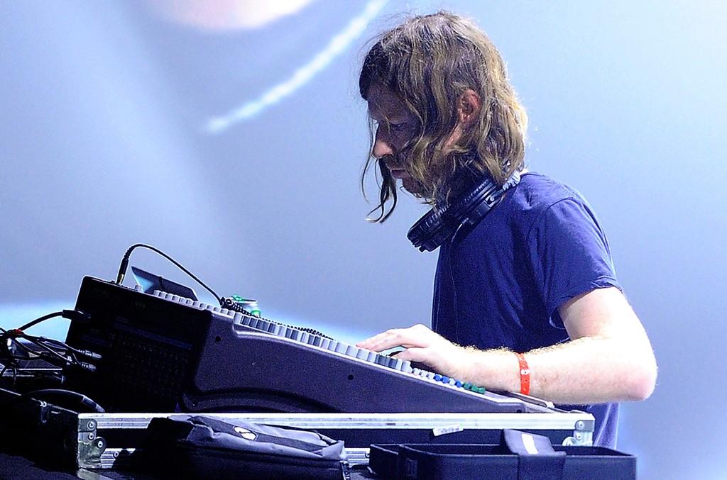 Aphex Twin performs in Paris