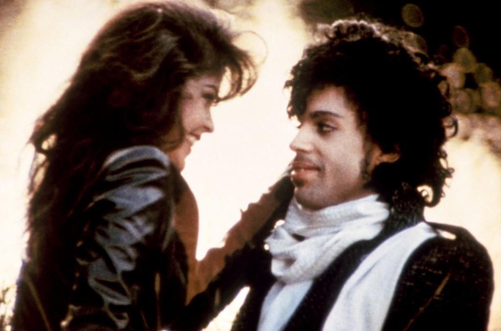 Apollonia Kotero and Prince in Purple Rain