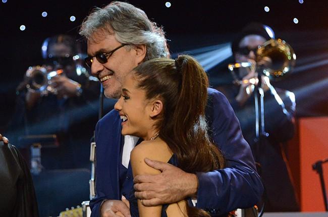 Ariana Grande and Andrea Bocelli