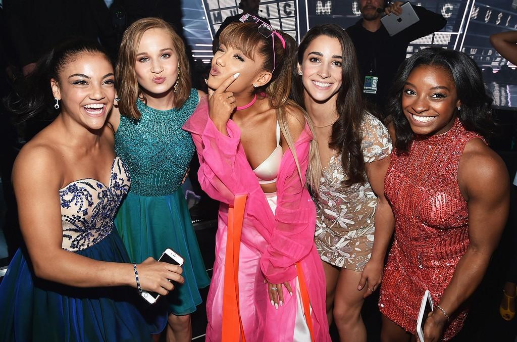 Ariana Grande & USA Gymnastics Team