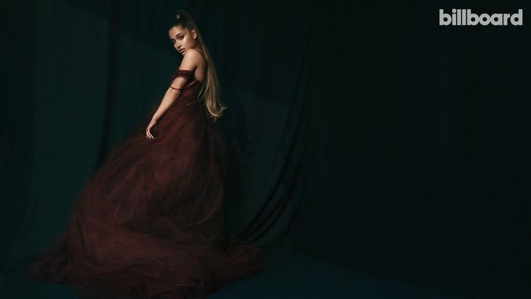 <p>Ariana&nbsp&#x3B;Grande photographed Nov. 10 at&nbsp&#x3B;Smashbox&nbsp&#x3B;Studios in Los Angeles.&nbsp&#x3B;She wears a Vera Wang dress and Lana Jewelry ring.</p>