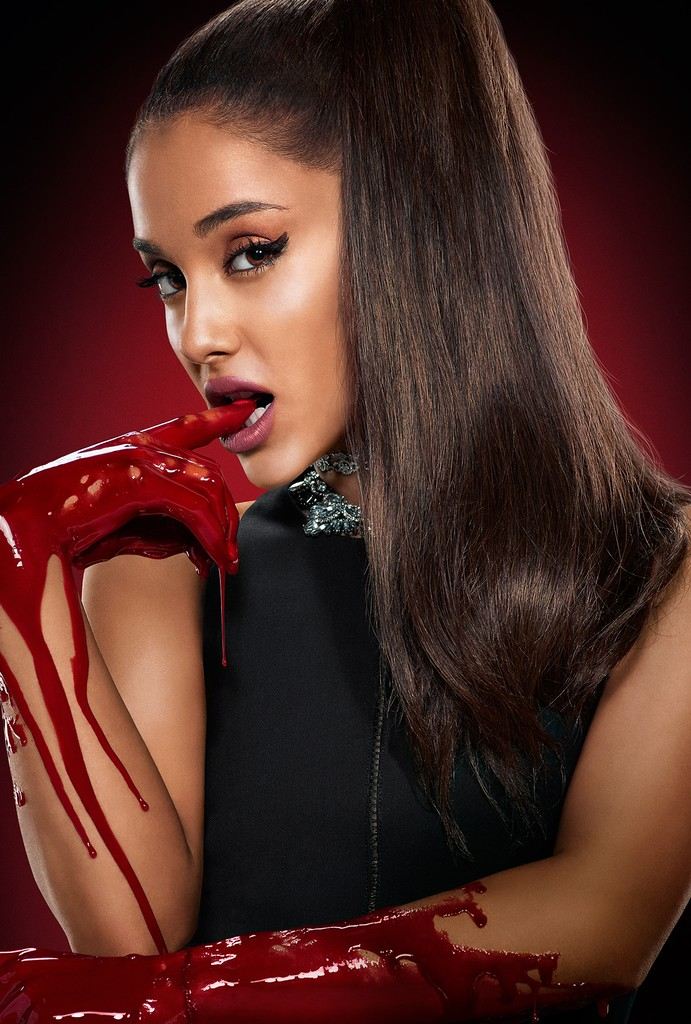 Ariana Grande as Chanel #2 in Scream Queens on Sept. 22, 2015.