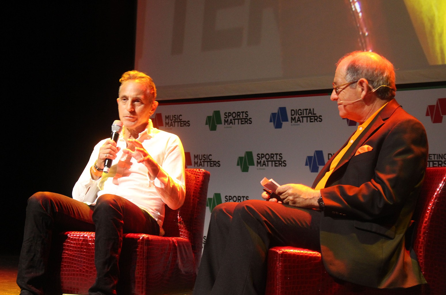 Arthur Fogel at the Music Matters Conference in Singapore.