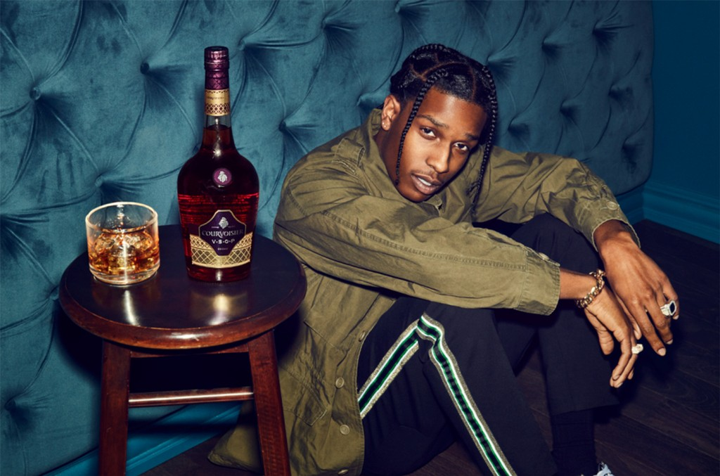 A$AP Rocky and Courvoisier Cognac Partner to Launch NEW Honor Your Code Campaign