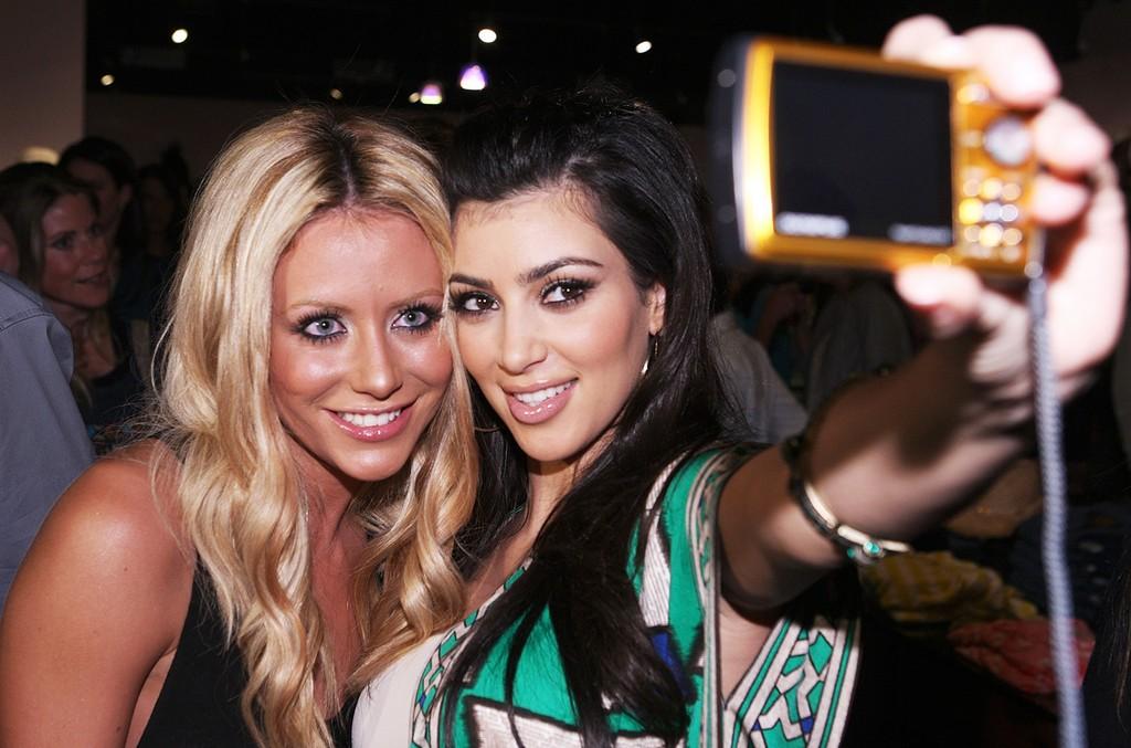 Aubrey O'Day & Kim Kardashian