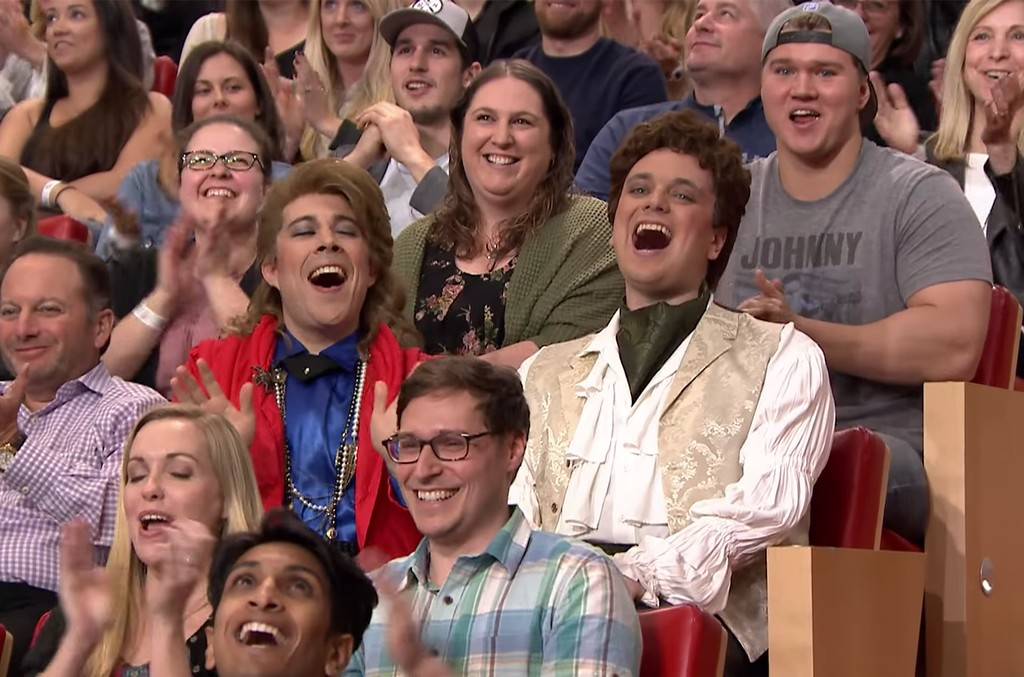 Audience Suggestion Box: Spandau Ballet Guys on 'The Tonight Show Starring Jimmy Fallon' on May 4, 2017.