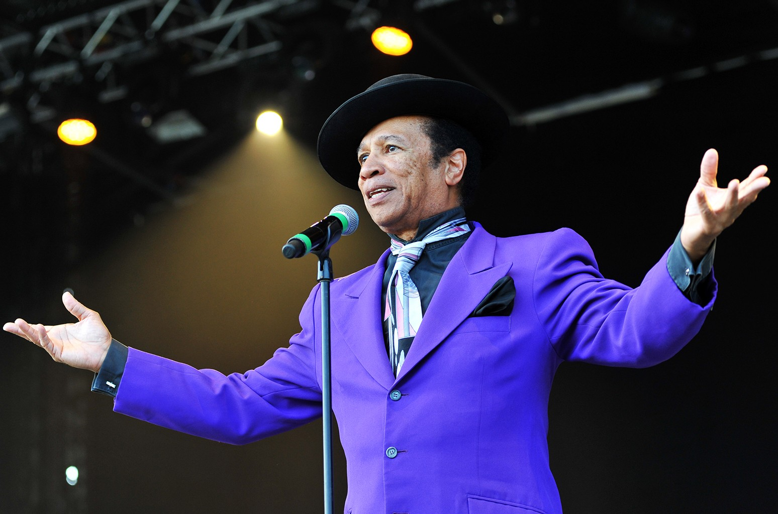 August Darnell of Kid Creole and the Coconuts