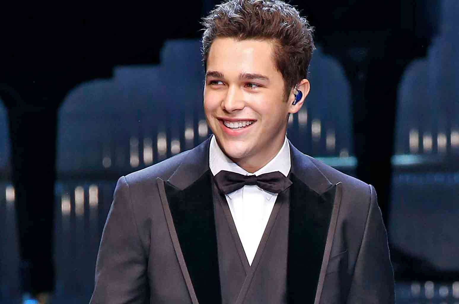 Austin Mahone walks the runway at the Dolce & Gabbana Ready to Wear fashion show during Milan Fashion Week Fall/Winter 2017/18 on Feb. 26, 2017 in Milan, Italy.