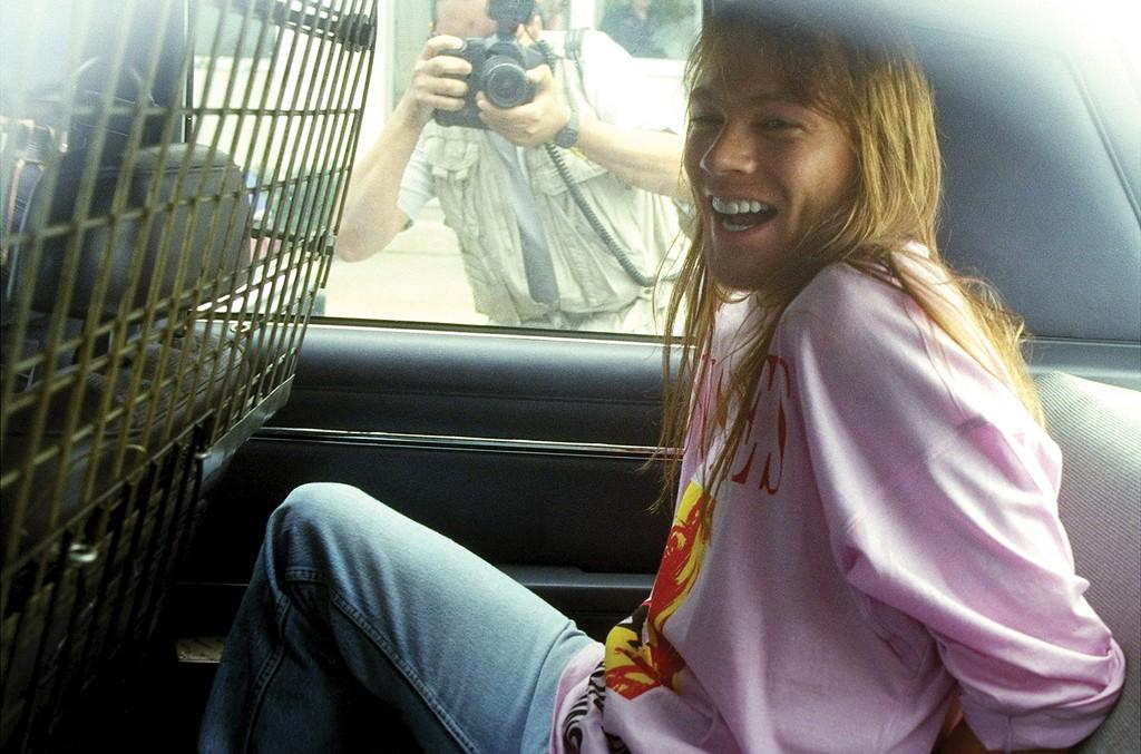 Guns N' Roses lead singer Axl Rose