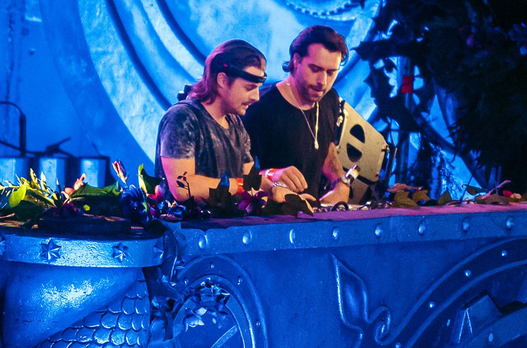 Axwell and Ingrosso perform during Tomorrowland