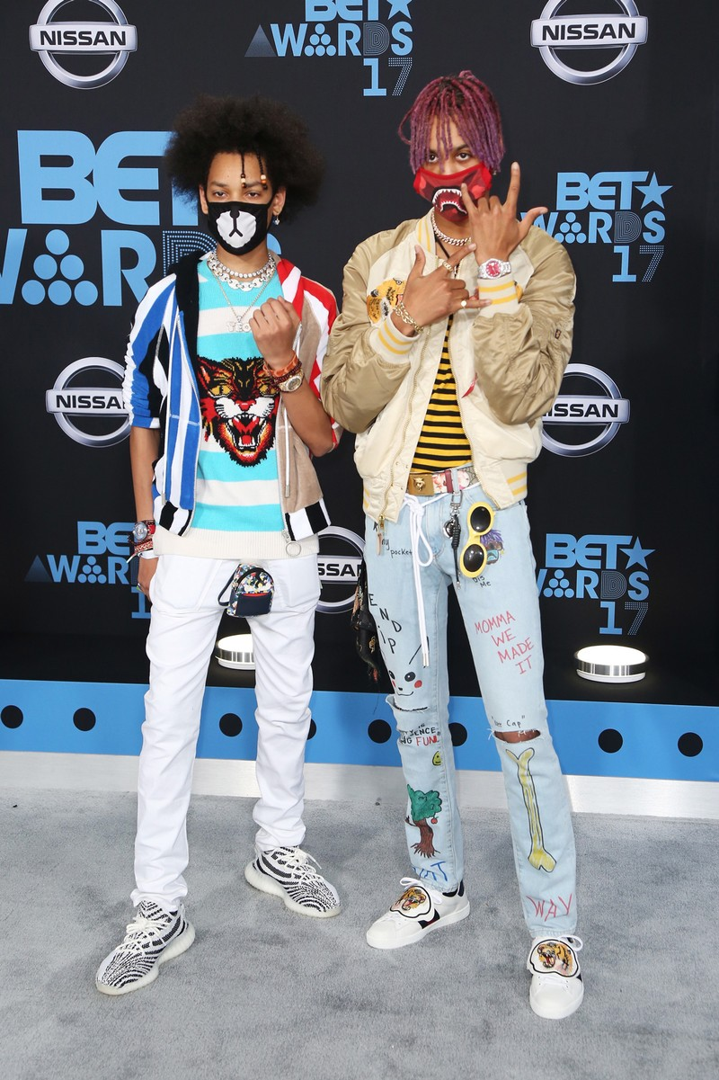 Ayo & Teo at the 2017 BET Awards at Microsoft Square on June 25, 2017 in Los Angeles.