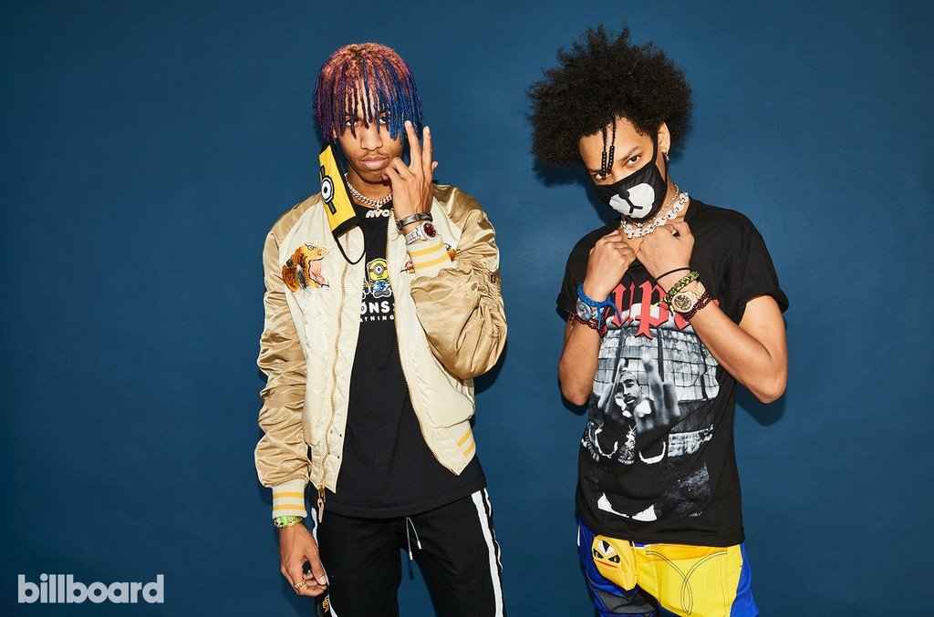 Ayo & Teo at the Hot 100 Music Festival, 2017