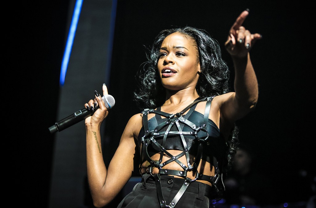Azealia Banks performs in 2014