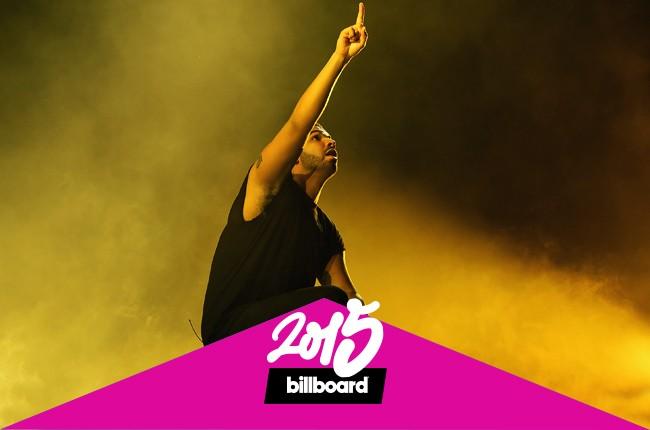 Drake performing in 2015.