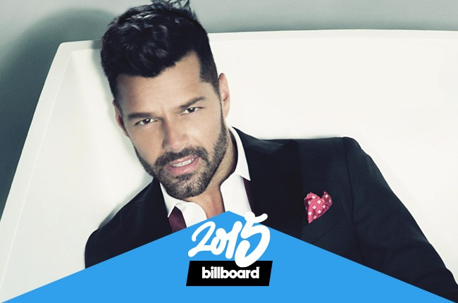 Ricky Martin photographed in 2015.