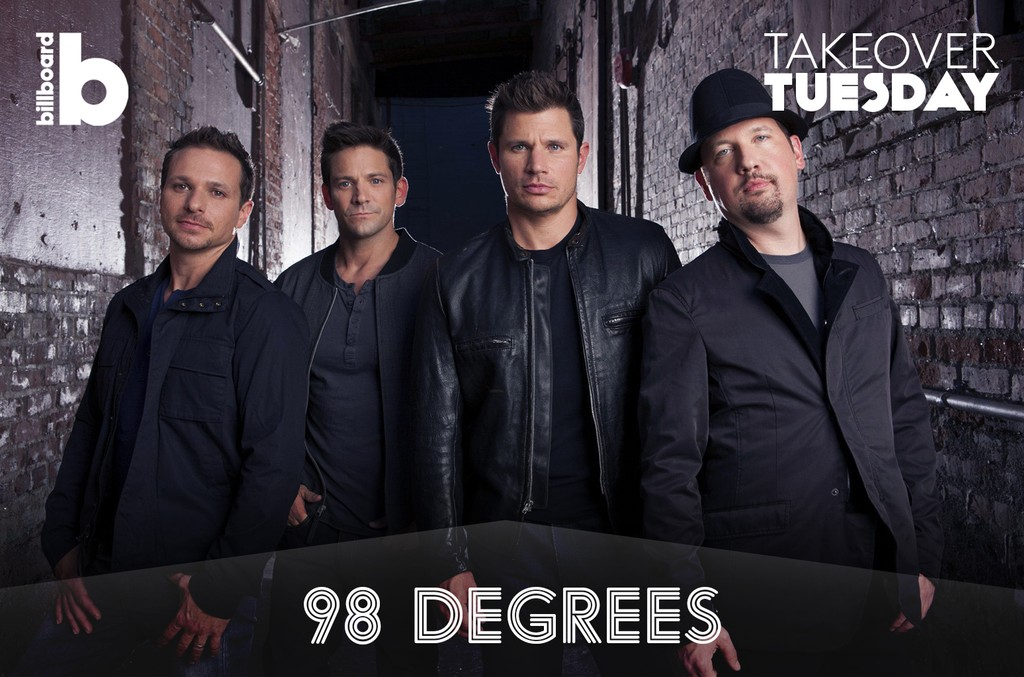 Takeover Tuesday with 98 Degrees
