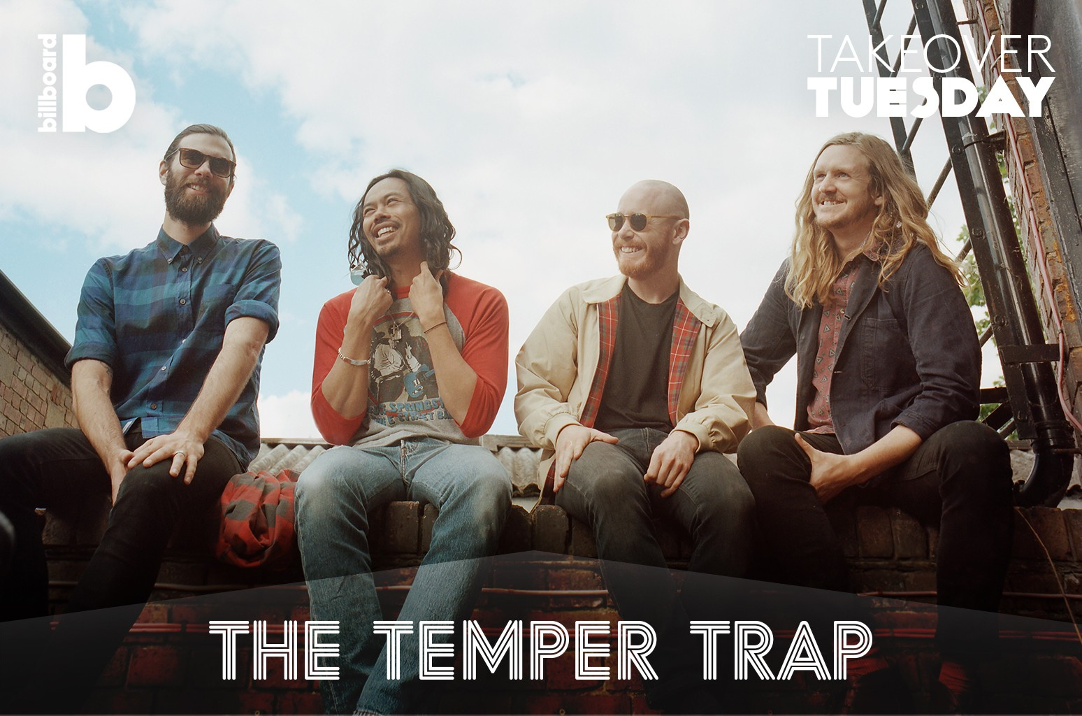 Takeover Tuesday with The Temper Trap