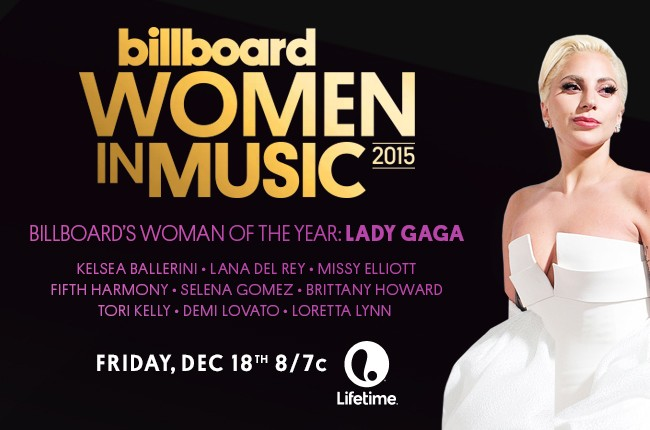 lady gaga women in music woman of the year 2015 lifetime