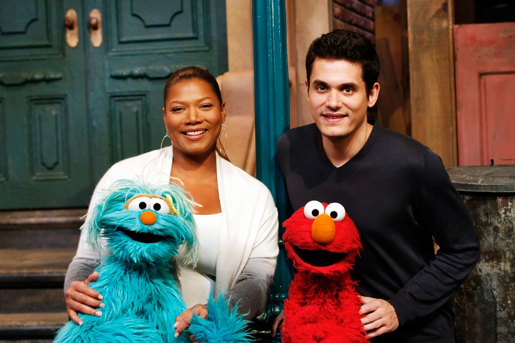 Queen Latifah & John Mayer