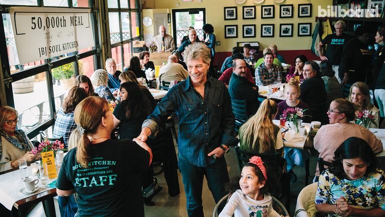 <p>Jon Bon Jovi photographed on Oct. 2 at Soul Kitchen in Red Bank, N.J.</p>