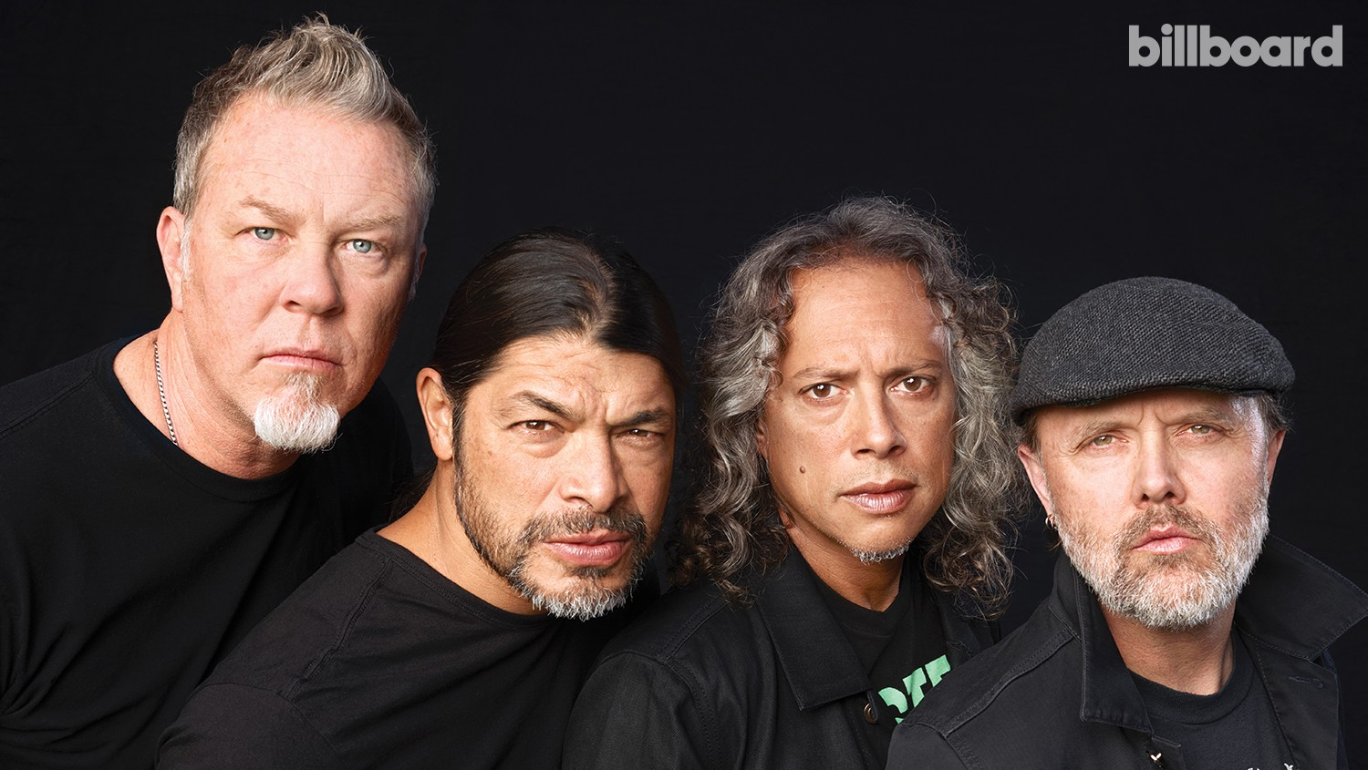 James Hetfield, Kirk Hammett, Robert Trujillo & Lars Ulrich