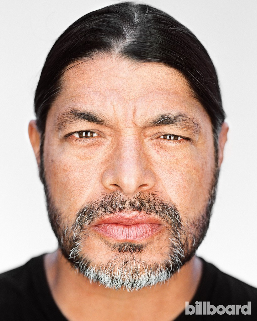 Robert Trujillo photographed Oct. 21 in San Rafael, Calif.