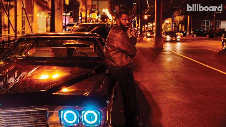 <p>Rhymefest photographed Oct. 28 in Chicago.&nbsp&#x3B;</p>