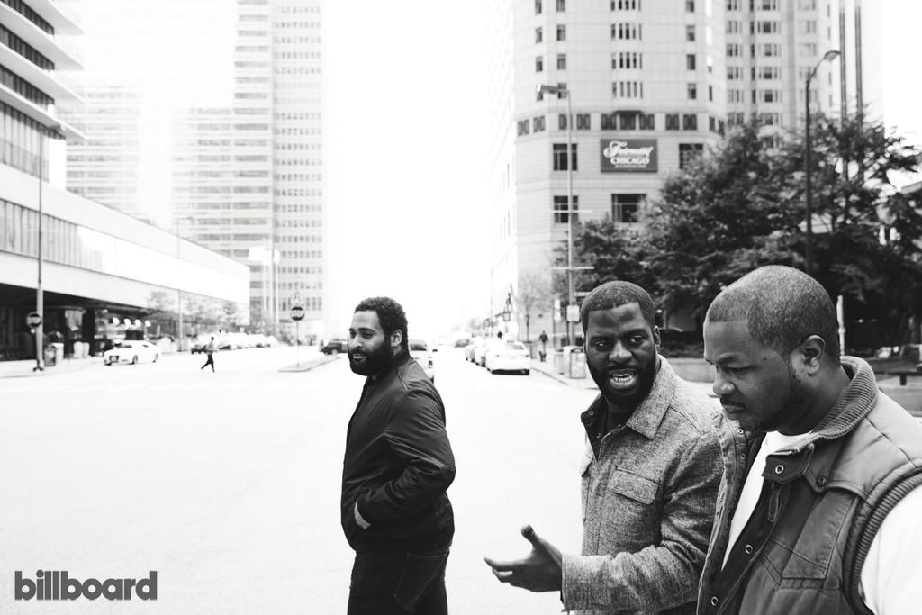 Rapper C.J. Hamilton, Rhymefest & Xzibit