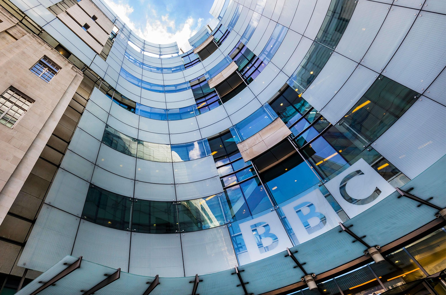 The BBC Broadcasting House in London.