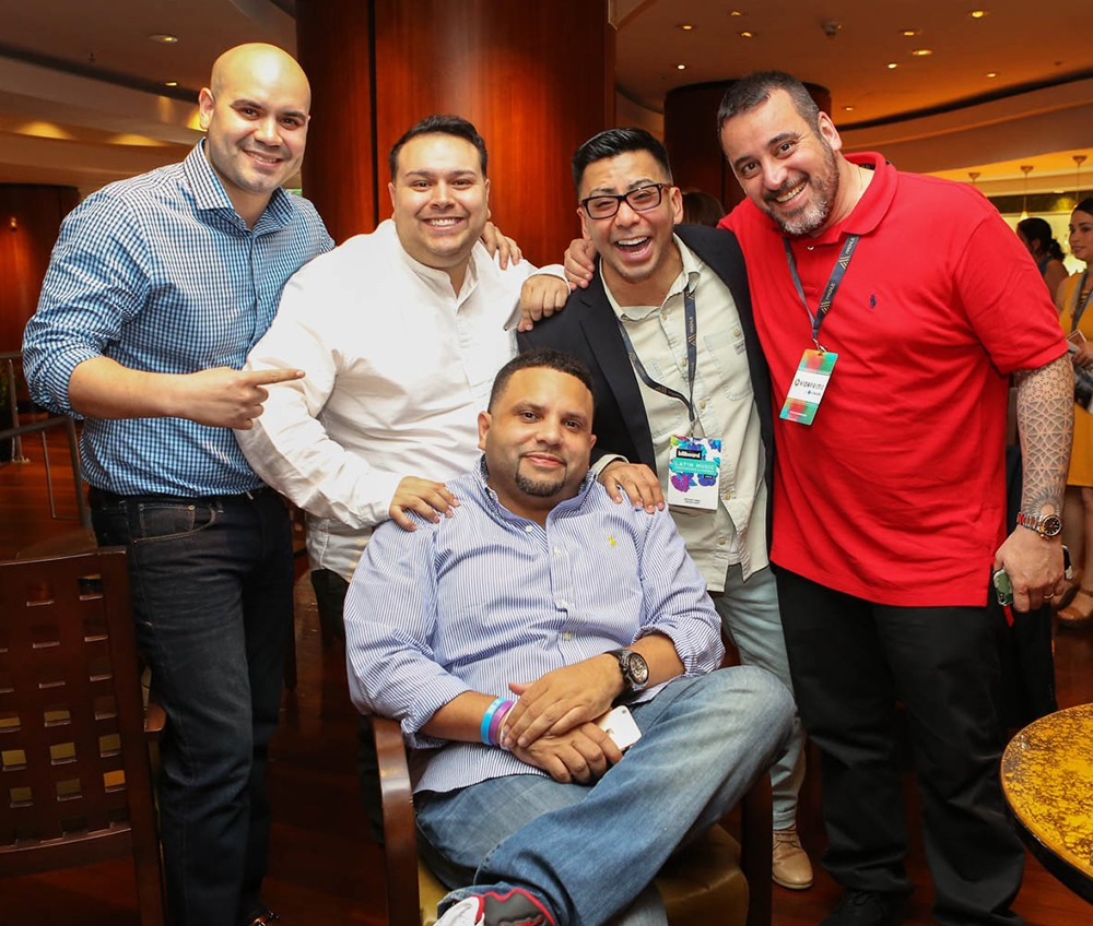 Networking Session, 2016 Billboard Latin Music Conference