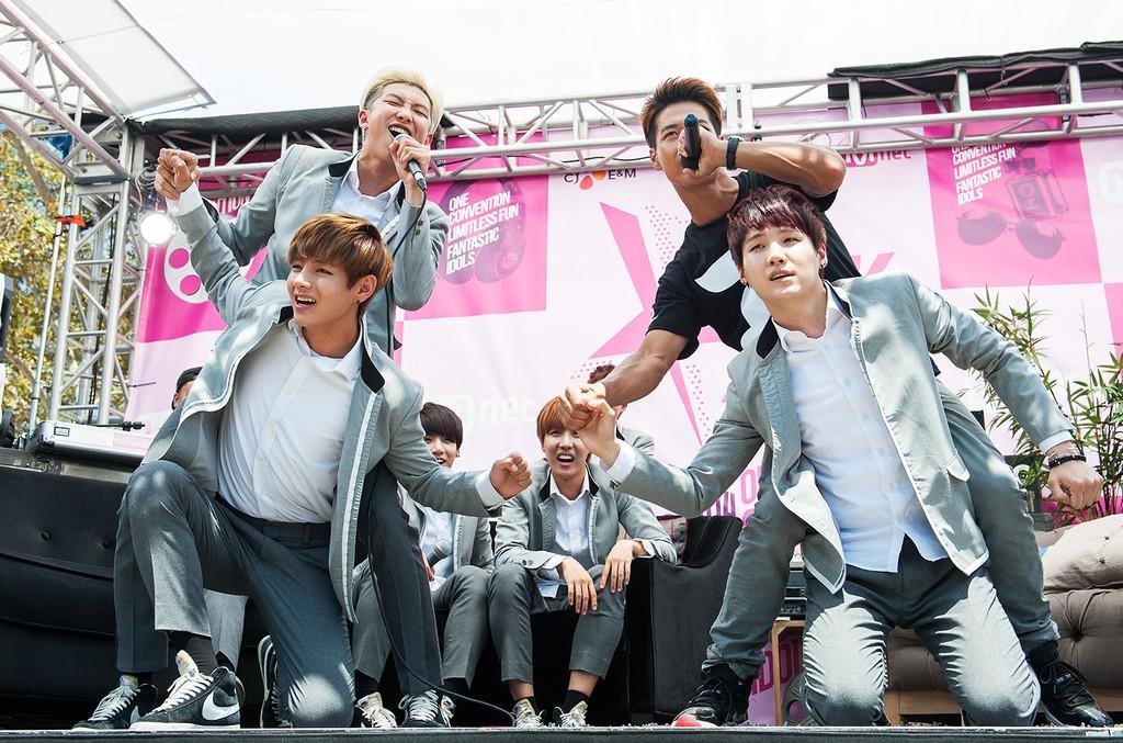 BTS attends KCON 2014