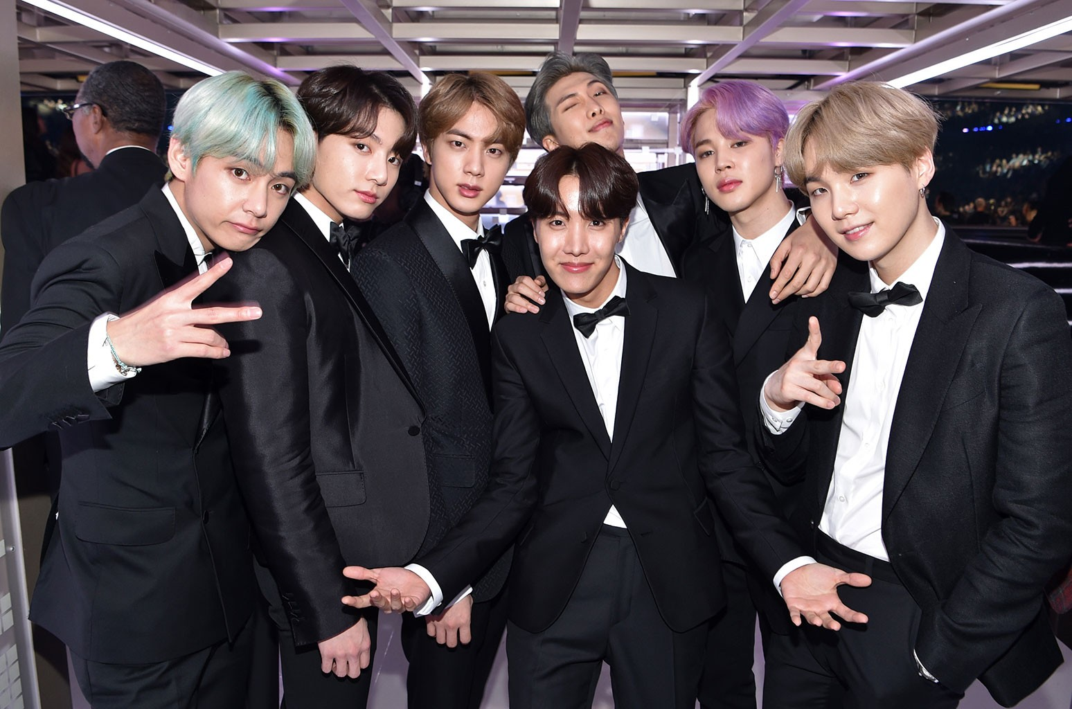 how bts emphasized the power of 7 for debut grammy performance billboard debut grammy performance
