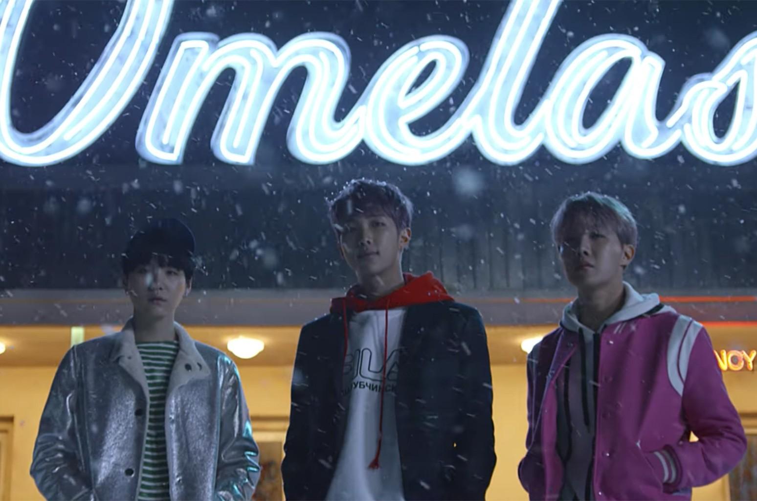BTS '?? (Spring Day)' MV