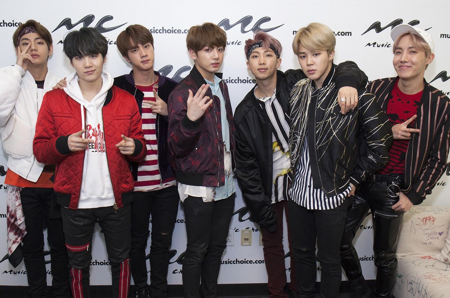 BTS, 2017