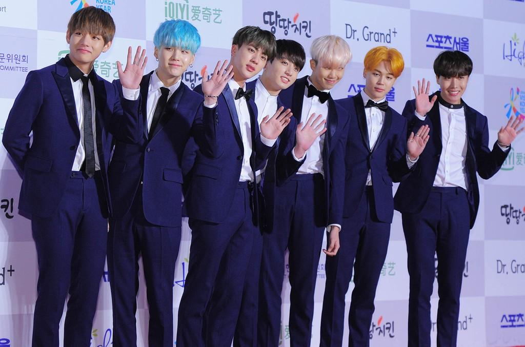 BTS in 2016